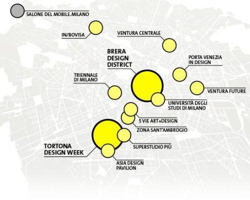 Gli eventi in programma per il fuorisalone di Milano 2018