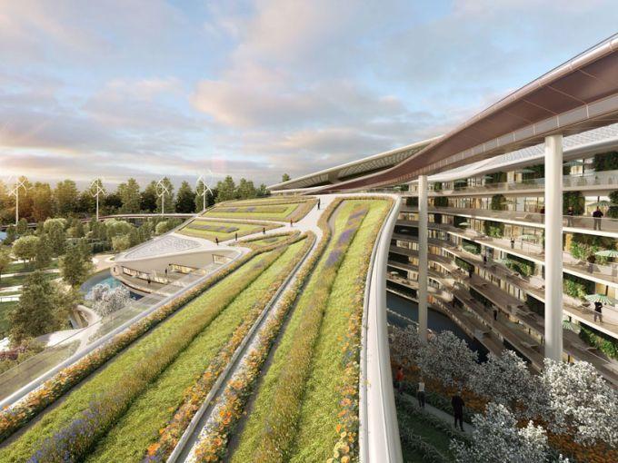 Agricoltura urbana al centro del progetto The garden city of the crescent moon