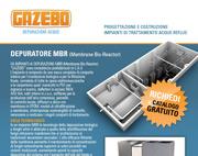 Depuratore MBR (Membrane Bio-Reactor)