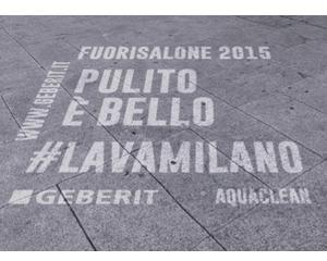 Nuova campagna virale Geberit, anche al Fuorisalone