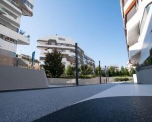 L'area esterna delle residenze Hadid rinasce grazie a IPM GeoDrena