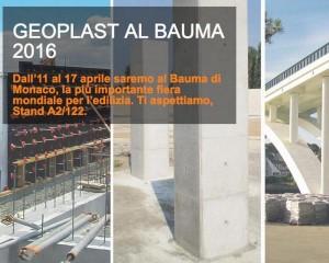 Bauma 2016, Geoplast è protagonista!