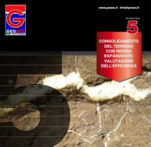 Consolidamento del terreno con resina espandente, valutazione dell'efficienza 1