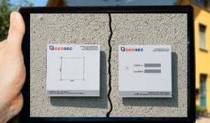 GEOSEC CRACK TEST™, APP per il monitoraggio delle crepe 2