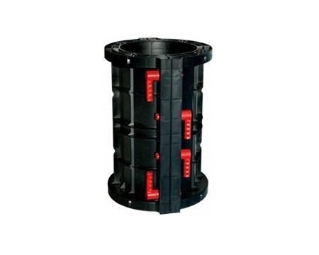 Cassaforma in ABS per colonne circolari e ovali