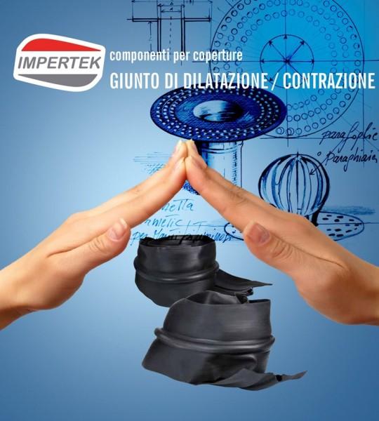 Accessori per coperture  - giunto di dilatazione e contrazione