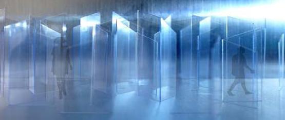 """""""GLACIER FORMATION"""", l'esposizione in vetro di Glascene™ alla Milano Design Week"""