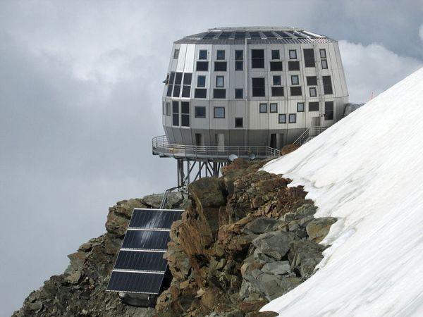 Rifugio Gouter, sul Monte Bianco