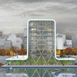 Rotterdam ospiterà il primo grattacielo galleggiante al mondo in legno