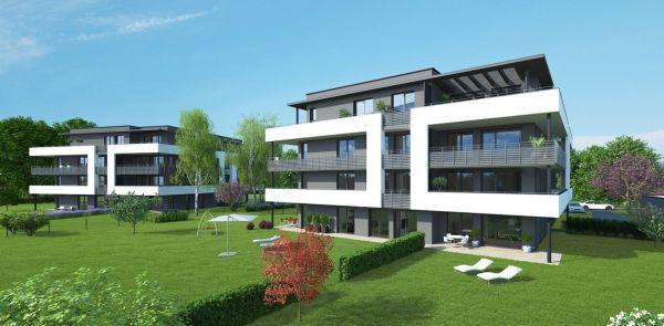 Complesso residenziale Walheimat a Graz con pilastri Tecnostrutture