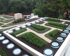 Sistema tetto contro l'isola di calore Cool Roof e Green Roof