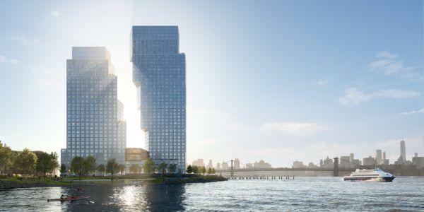 Greenpoint Landing: gli edifici complementari a Brooklyn che sembrano pezzi di tetris