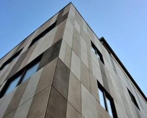 Keope per le nuove facciate e pavimentazioni dello stabilimento Isolcell