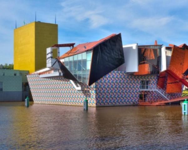 Groninger Museum nei Paesi Bassi firmato da Atelier Medini