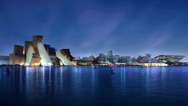 Il Guggenheim di Abu Dhabi firmato Frank Gehry sarà pronto in cinque anni