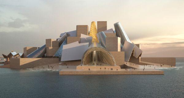 Il Guggenheim di Abu Dhabi firmato Frank Gehry