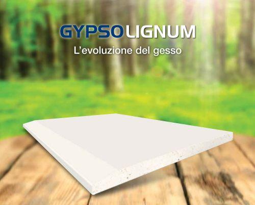 GypoLignum, nuova lastra del Sistema Cartongesso Gypsotech