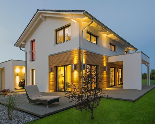 Haas casa jubil e xxl plus for Casa moderna esterno
