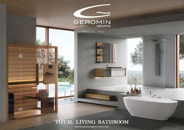 Le soluzioni per il bagno verso il total living di Hafro Geromin