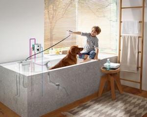 Sistema per tubo flessibile sBox, maggior comfort e sicurezza per la vasca da bagno