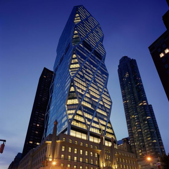 Esempio facciatismo a new-york: Hearst Tower