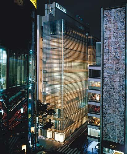 Maison Hermes a Tokyo by Renzo Piano