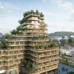 High garden, il progetto per l'eco distretto alla periferia di Parigi