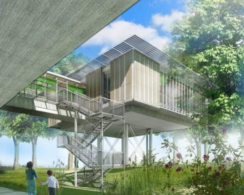 Piano firma la 39 casa sull 39 albero 39 per curare i bambini - Progetto casa sull albero per bambini ...
