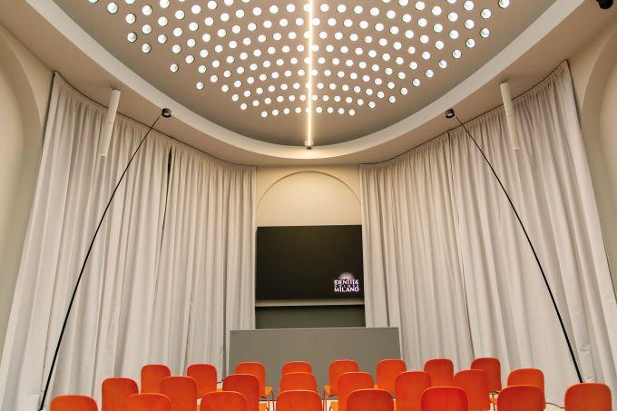 Identità Golose Milano, la sala con la copertura a volta