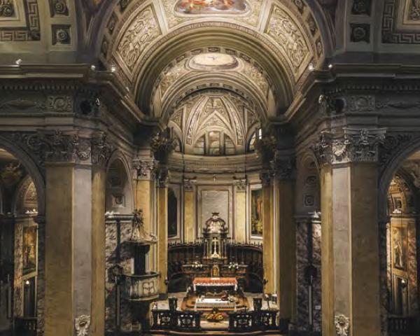 Illuminazione di una chiesa