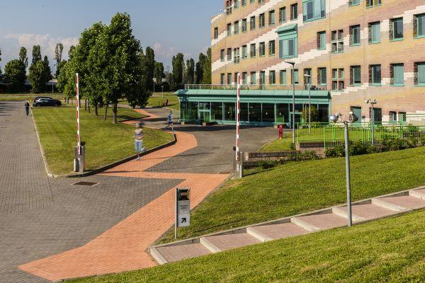 Riqualificazione area esterna de Le 4 Porte, Running track