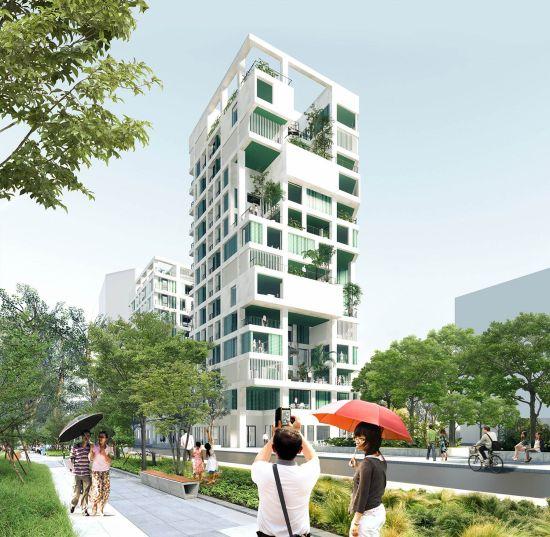 Progetto di social housing a Taiwan