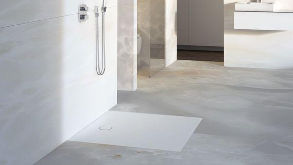 Le docce a filo pavimento di Geberit
