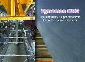 DYNAMON NRG: SUPERFLUIDIFICANTE PER CALCESTRUZZO