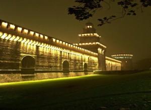 Castello Sforzesco - gestione illuminazione