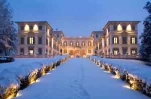 Villa Borromeo a Senago (MI) - illuminazione e allarmi