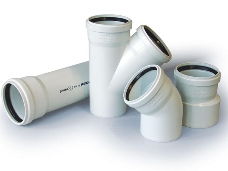 Sistema di scarico phonoline for Raccordi per tubi in rame e plastica