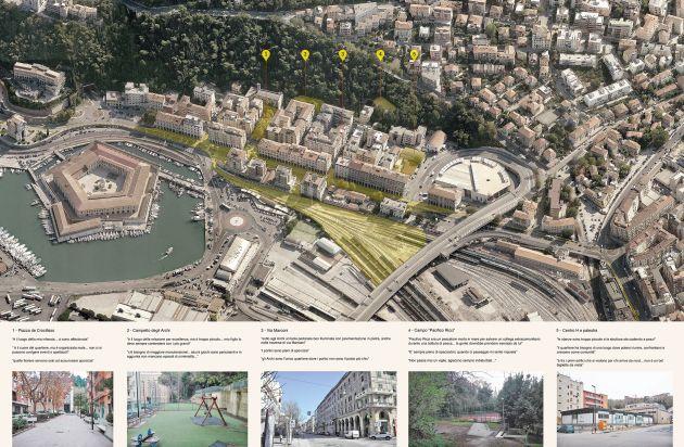 Il percorso che ha portato alla riqualificazione del rione degli archi ad Ancona