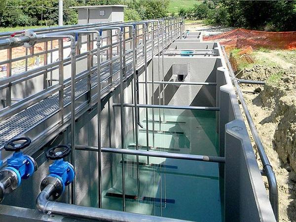Vasche per la depurazione dei fanghi