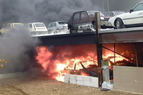 incendio-parcheggio