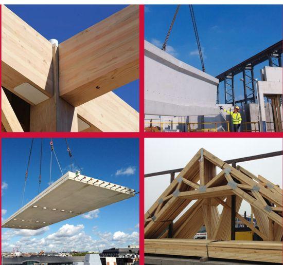 Alcune immagini del documento del governo inglese Mmc Definition Framework sull'edilizia industrializzata