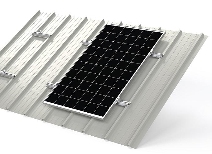 Sistema di montaggio moduli fotovoltaici