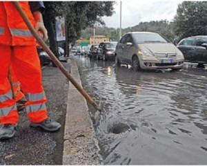 Laminazione per regolare la portata d'acqua contro i dissesti