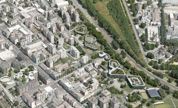 Inserimento urbano della Primaria di via Pizzigoni