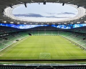 In Russia uno stadio che ricorda un anfiteatro romano
