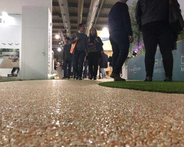 GeoDrena, sistema di pavimentazione continua ultradrenante a Myplant & Garden