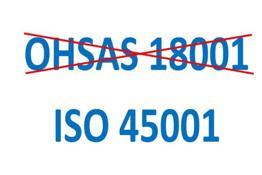 Nuova norma ISO 45001 al posto della BS OHSAS 18001 per la sicurezza nei luoghi di lavoro