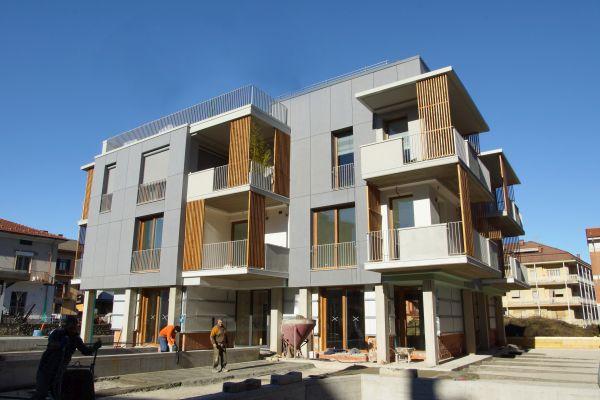 Nuovo edificio residenziale 9+9 HOUSING UNITS a Borgo San Dalmazzo