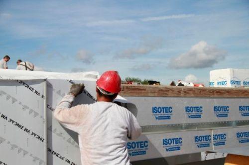 Applicazione pannello  Isotec linea