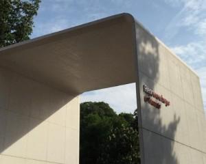 Arco monumentale in cemento fotocatalitico antismog
